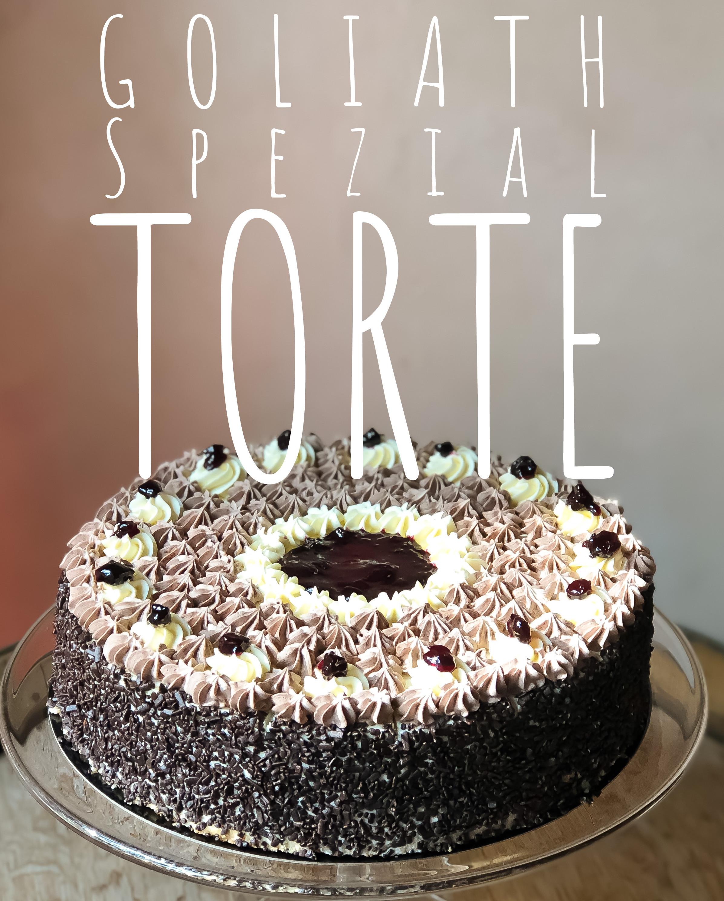 12. Goliath Spezial Torte