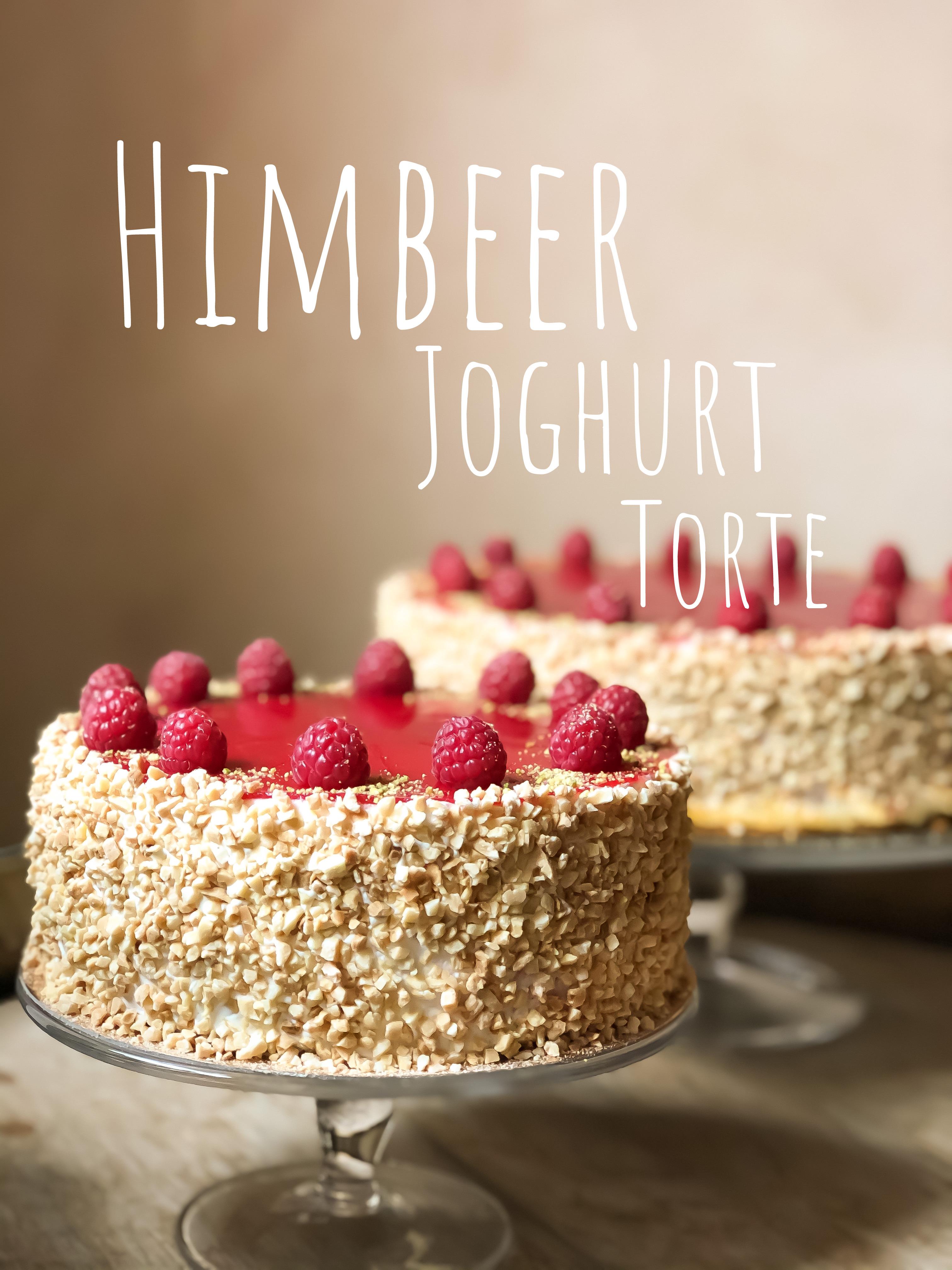 17. Himbeer Joghurt Torte